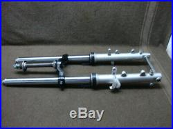 00 2000 Yamaha Yzf600 Yzf600r Thundercat Fork Set, Tubes, Axle, Straight! #vl10