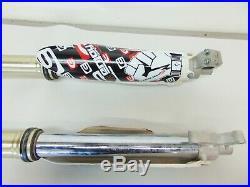 01997 Yamaha YZ250F YZ 250 OEM Front Fork Tubes Triple Tree 09 2009 AJ