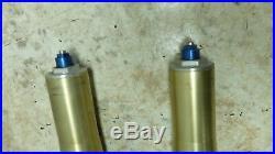 01 YZF R1 YZFR1 R 1 1000 Yamaha front forks fork tubes shocks right left
