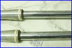 01 Yamaha XVS 1100 XVS1100 V-Star front forks fork tubes shocks right left