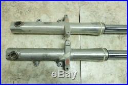 01 Yamaha XV 1600 XV1600 AL Road Star front forks fork tubes shocks right left