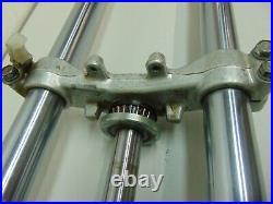 02249 Yamaha YZ80 YZ 80 80 Motorcycle OEM Fork Tubes Triple Trees 89 1989 ZL