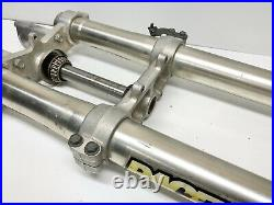 02-12 Yamaha YZ85 YZ 85 Front Forks Tubes Shocks Dampers Suspension 02