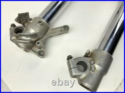 02 Yamaha YZ250 YZ125 YZ 250 125 Front Forks Tube Leg Shocks Triple Tree Clamp