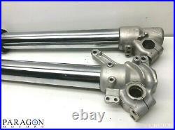 03#1 2003 Yamaha YZ125 YZ 125 Front Forks Fork Tubes Suspension Spring