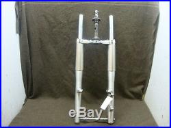 03 2003 Yamaha Xvs650 Xvs V-star Classic Fork Set, Tubes, Axle, Straight! #wwl15