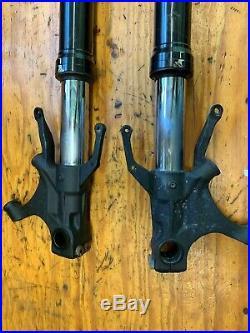 04-06 Yamaha YZF R1 Front Forks Tubes Shocks Legs Straight