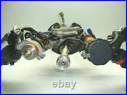 04-06 Yamaha Yzf R1 Front End Forks Tubes Suspension Handlebars Trees Calipers
