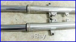 06 Yamaha XV1700 A XV 1700 Road Star front forks fork tubes shocks right left