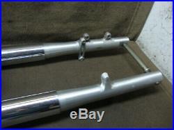 07 2007 Yamaha Xvs650 Xvs V-star Classic Fork Set, Tubes, Axle, Straight! #wl15