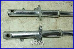 07 Yamaha XV 1700 A XV1700 Road Star chrome front forks fork tubes shocks