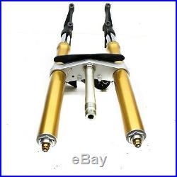 08-16 Yamaha Yzf R6 Front Forks Tubes Suspension Lower Tree Stem Gold