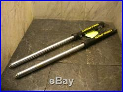 1985 YAMAHA TRI Z 250 YTZ FRONT FORKS 35MM 5113 chrome tubes pitted