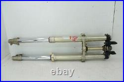 1989 Yamaha YZ 250 WR Fork Tubes Front Suspension Triple Clamps YZ250WR