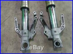 1998 1999 R1 Yzf-r1 Left Right Front Fork Tube Set Forks Straight! Good Seals