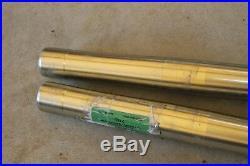 1998 Yamaha YZ125 Front Forks, Fork Tubes, Suspension, Front End OEM, YZ 125