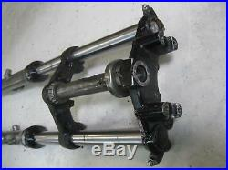 1. Yamaha RR 250 LC 4L1 Fork complete with Lower Upper Yoke 1 1/4in Tube