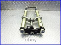 2001 00-01 Yamaha R1 YZFR1 Front Fork Tubes Triple Steering Axle Suspension OEM