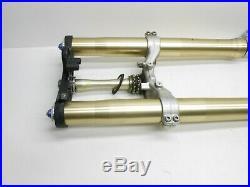 2001 Yamaha R1 Yzf 1000 Yzf1000 Forks Fork Tubes Tube Triple Trees R6 00 01 Y3