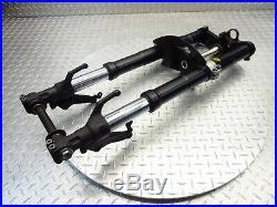 2002 02 03 Yamaha Yzfr1 R1 Oem Fork Tubes Front Suspension Triple Tree Set