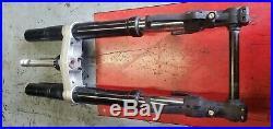 2003 02 03 Yamaha YZFR1 R1 OEM Fork Tubes Front Suspension Triple Tree Set