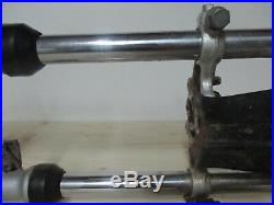 2003 Yamaha TTR90 Complete Front End, Front Forks, Clamps, Tubes, 03 TTR 90 MX8