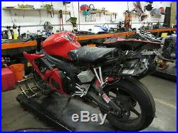 2005 05 Yamaha YZFR6 R6S R6 OEM Fork Tubes Front Suspension Legs One Bent
