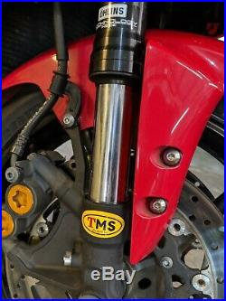 2005 05 Yamaha Yzf R6 Front End Fork Tube Suspension Ohlins Thermosman