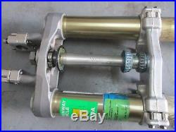 2005 YZ125 Front Forks, Fork Tubes, Clamps, Front Shocks, OEM, 05 YZ 125 MX1