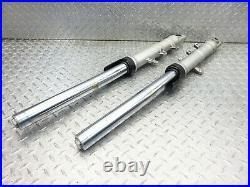 2006 04-09 Yamaha FZ6 FZ6R OEM Fork Tubes Suspension Legs BENT Pair