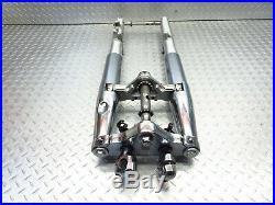 2007 04-16 Yamaha VStar650 Classic XVS650 OEM Fork Tubes Front Suspension Tree