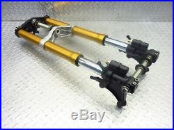 2007 06 07 Yamaha YZFR6R YZFR6 R6R OEM Fork Tubes Front Suspension Tree Set