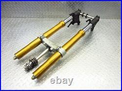 2007 07 08 Yamaha R1 YZFR1 OEM Fork Tubes Front Suspension Triple Tree Stem