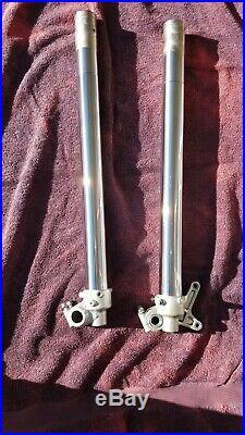 2007 Yamaha YZ250F SSS Suspension Lower Fork Tubes Tube Left Right