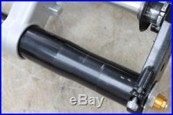 2007 Yamaha Yzf R1 Front End Forks Triple Tree Clamp Fork Tubes Axle