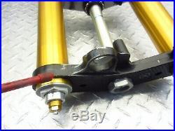 2008 08-16 Yamaha YZFR6 YZF R6R R6 Front Fork Tubes Suspension Triple Tree