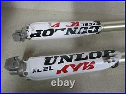 2009 YAMAHA YZ250 KYB SSS FORKS With CLAMPS FORK TUBES, M122