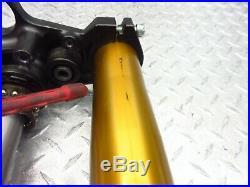 2012 11-13 Yamaha FZ 800 FZ8 Front Forks Tubes Triple Tree Suspension