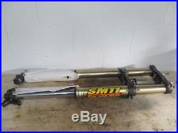 2013 YAMAHA YZ250F KYB SSS FRONT FORKS With CLAMPS, FORK TUBES, SUSPENSION, MX17