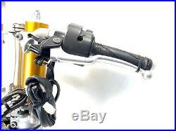 2014 Yamaha R1 OEM Complete Front End Suspension Fork Tubes Brakes Bars YZF-R1