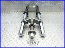 2015 15-17 Yamaha FZ07 FZ7 OEM Fork Tubes Front Suspension Triple Tree Set