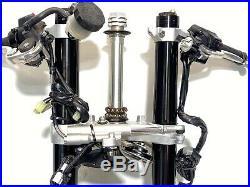 2015 Yamaha R1 R1S OEM Complete Front End Suspension Fork Tubes Brakes Tree