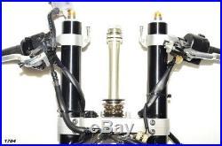 2015 Yamaha YZF-R6 OEM Complete Front End Suspension Forks / Tubes & Brakes