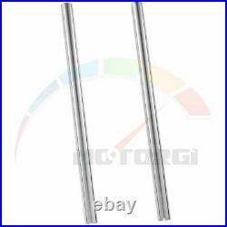2xPipes Inner Fork Tubes Pair Bars For Yamaha RD125LC 1986 1GU-23110-00 33X590mm