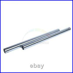 2xStanchions Fork Tubes Pair Inner Shock Stanchions For Yamaha TZR250 3MA 1989