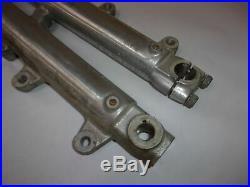 78 Yamaha Sr500 Sr 500 E Oem Front Forks Tubes Dampers