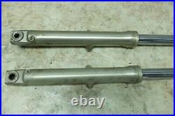 80 Yamaha SR 250 SR250 Exciter front forks fork tubes shocks right left