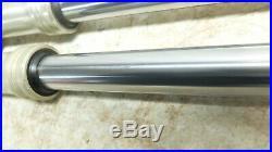 81 Yamaha SR 250 SR250 Exciter front forks fork tubes shocks right left