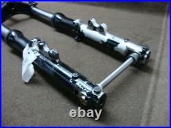 82 Yamaha Xj650 Xj 650 L Turbo Fork Set, Tubes, Suspension, Straight! #un2