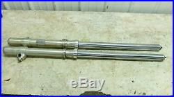 82 Yamaha YZ250 J YZ 250 front forks fork tubes shocks right left straight